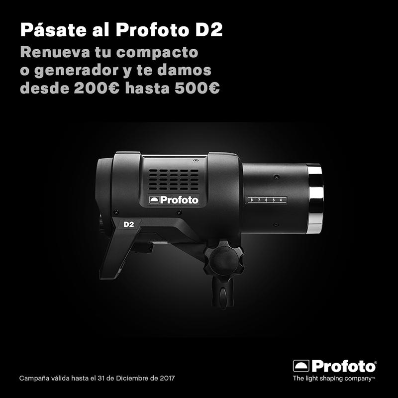 Pásate al Profoto D2